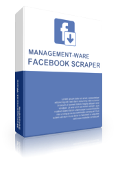 Facebook Data extraction software